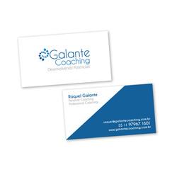 Cartão Galante