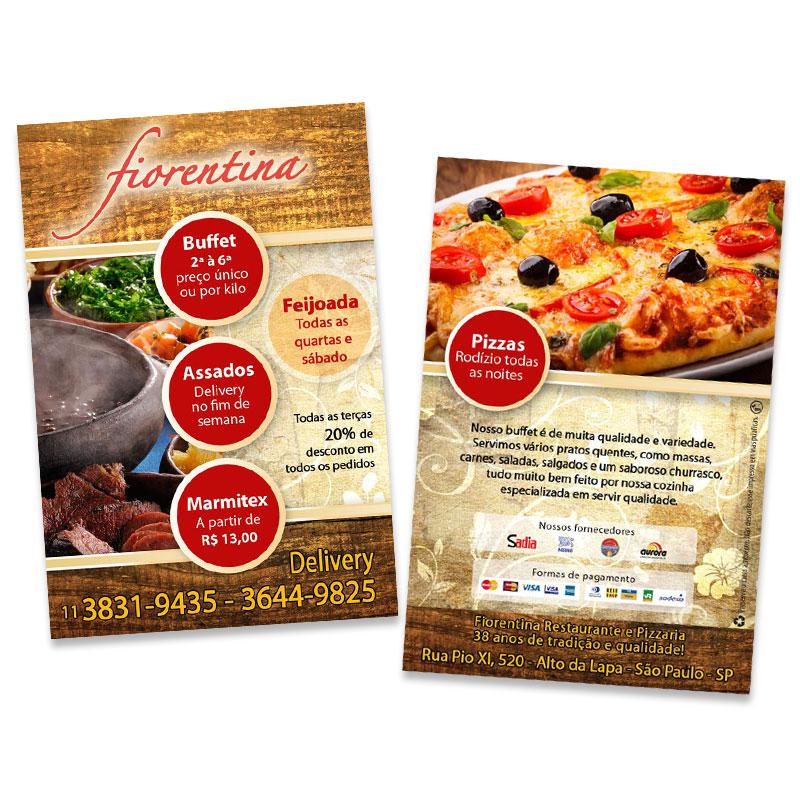 Flyer Restaurante