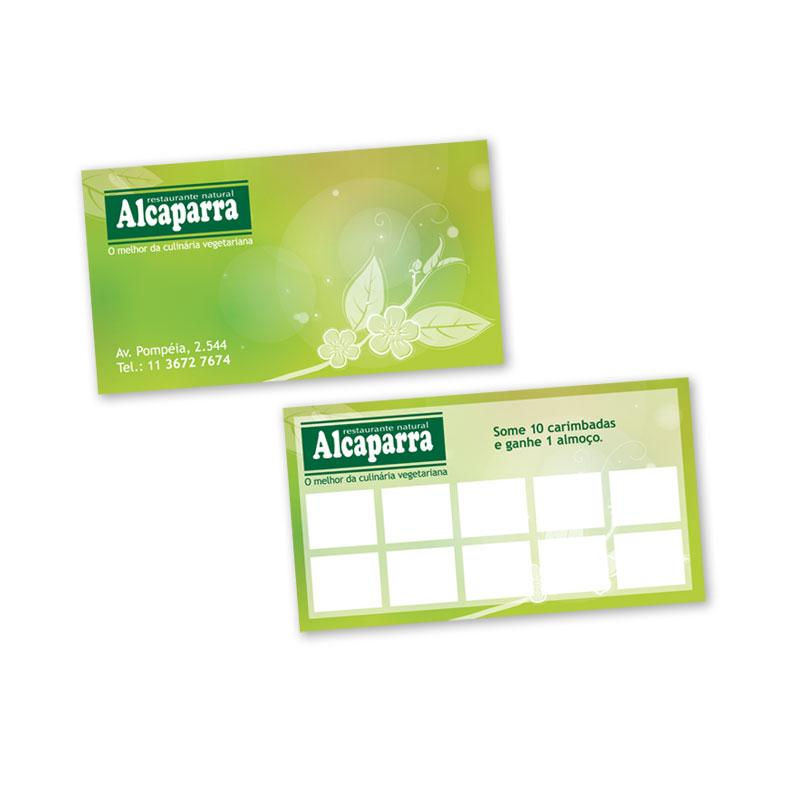 Cartão Alcaparras