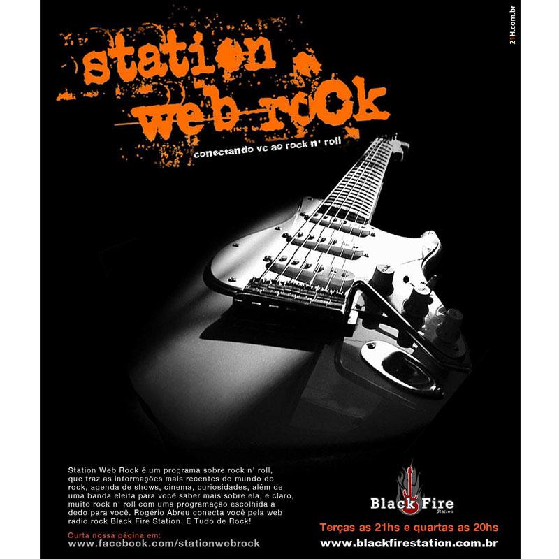 Anúncio programa de rádioweb