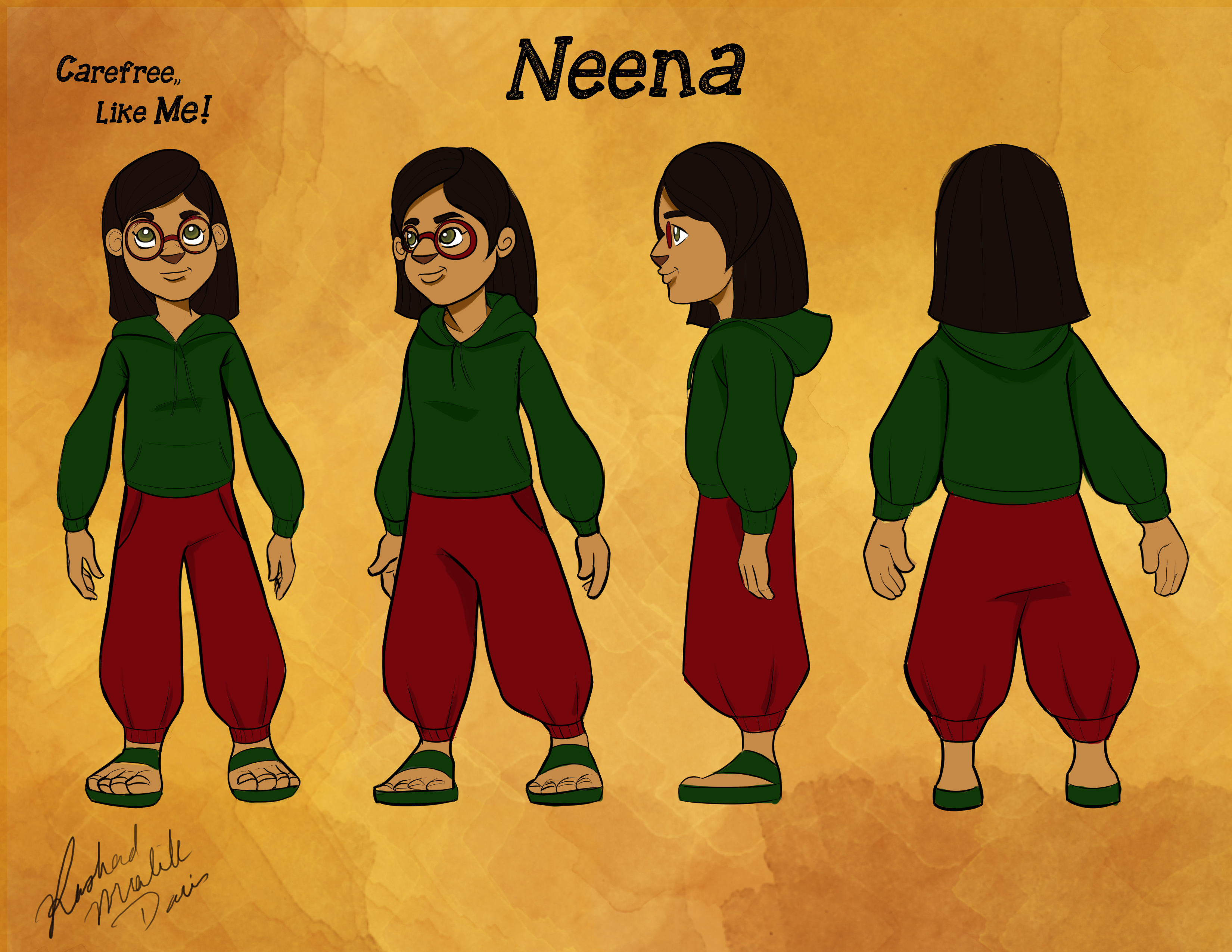 Neena Character Turnaround