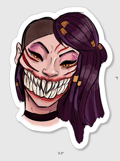 Mortal Kombat Mileena Sticker