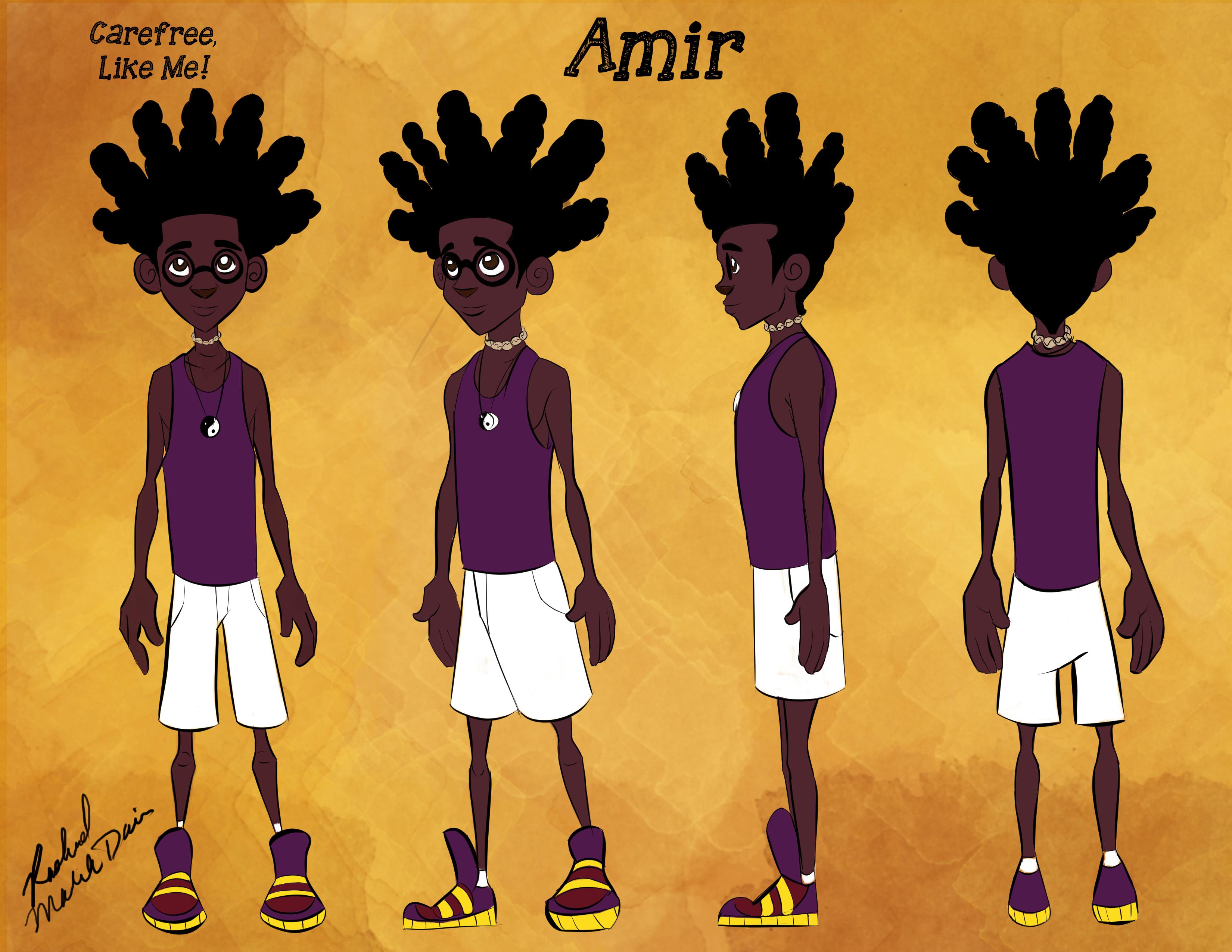 Amir Character Turnaround