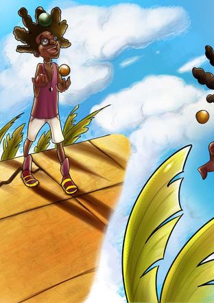 Carefree, Like Me! - Ch. 2 Illustration