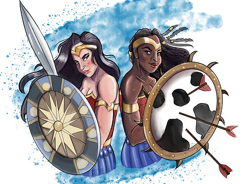 Wonder Woman x Nubia - Exclusive Limited Edition Print