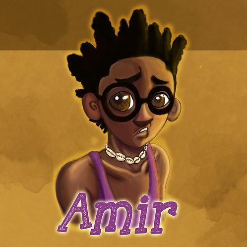 Amir Portrait Art Print