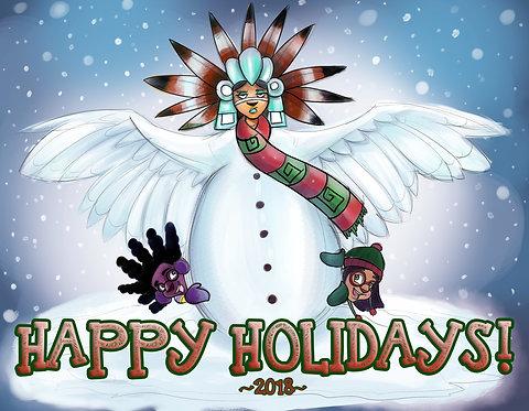 Happy Holidays! - Holiday Card