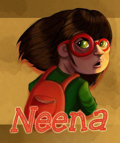 Neena Portrait Art Print