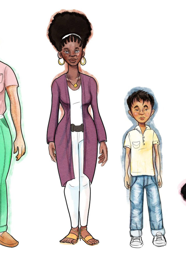 Character Studies for LGBT Story