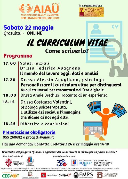 IV incontro - Curriculum Vitae.png
