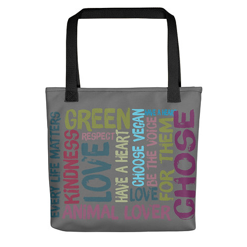Every Life Matters / Tote Bag / Grey