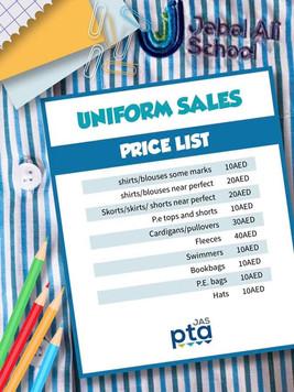 JAS Uniform Sales