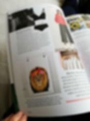 Good Magazine Loco Graphic Design Hibiscus Lion print available at Eclectika