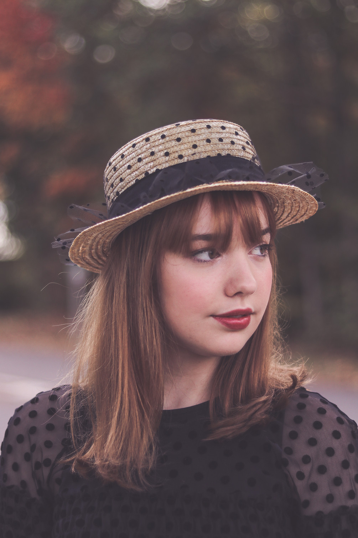 The polkadot girl