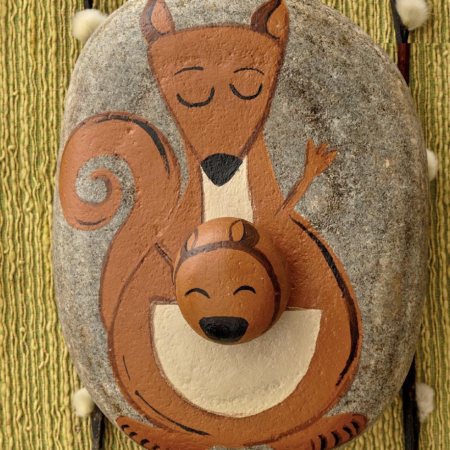 Kangaroo pebble