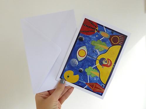 "The Union - 7x5"" Folded Card"