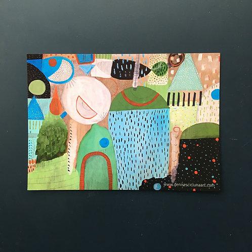 """Flow postcard (7x5"""")"""
