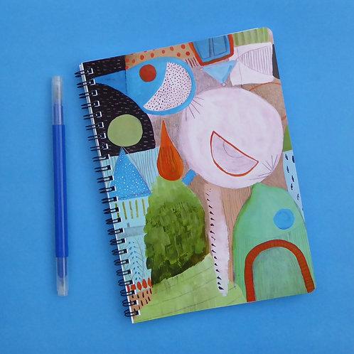 FLOW - Notebook (A5)