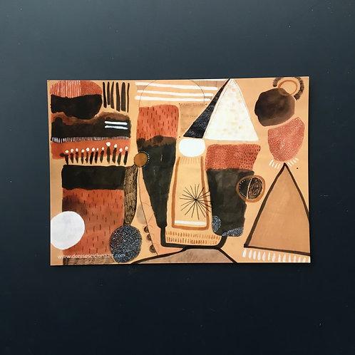 "Known unknowns postcard (7x5"")"