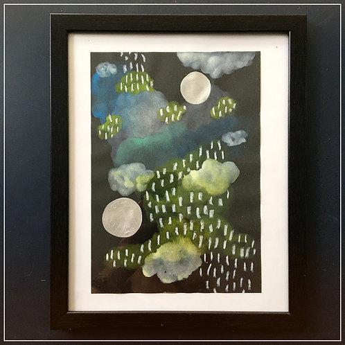 """""""The Storm"""" no4. original artwork"""