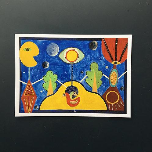 "The Union postcard (7x5"")"