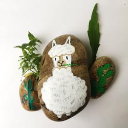 Alpaca pebble