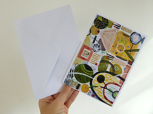 "Empire Gazing - 7x5"" Folded Card"