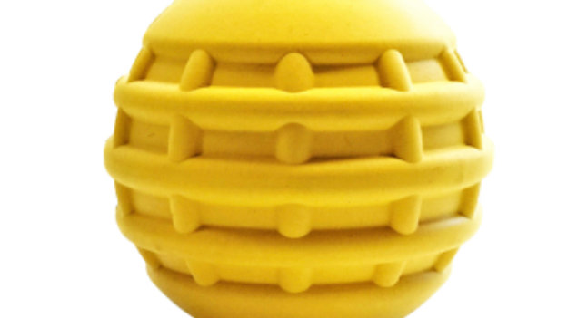 Industrial Dog Yellow Ball