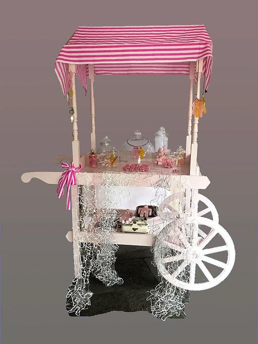 Sculpture, Sweet Cart Named Desire