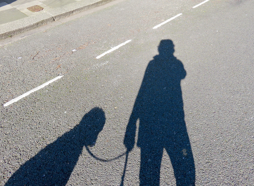 Setting off for  walk.