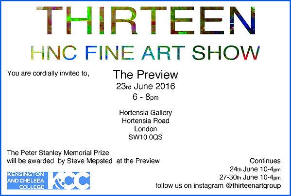 Thirteen Invite