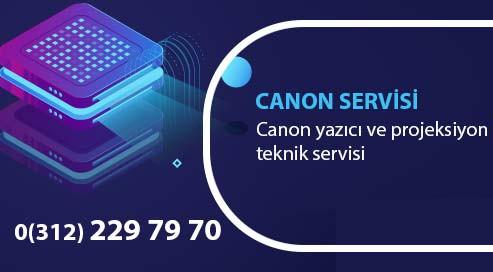 Ankara'da Canon Yazıcı ve Projeksiyon Cihazları İçin Garantili Tamir Servisi.