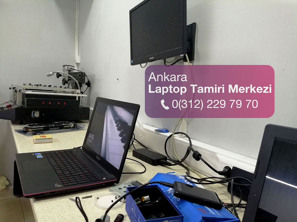 Ankara'da Asus laptop ve notebooklar için garantili teknik servis hizmeti.