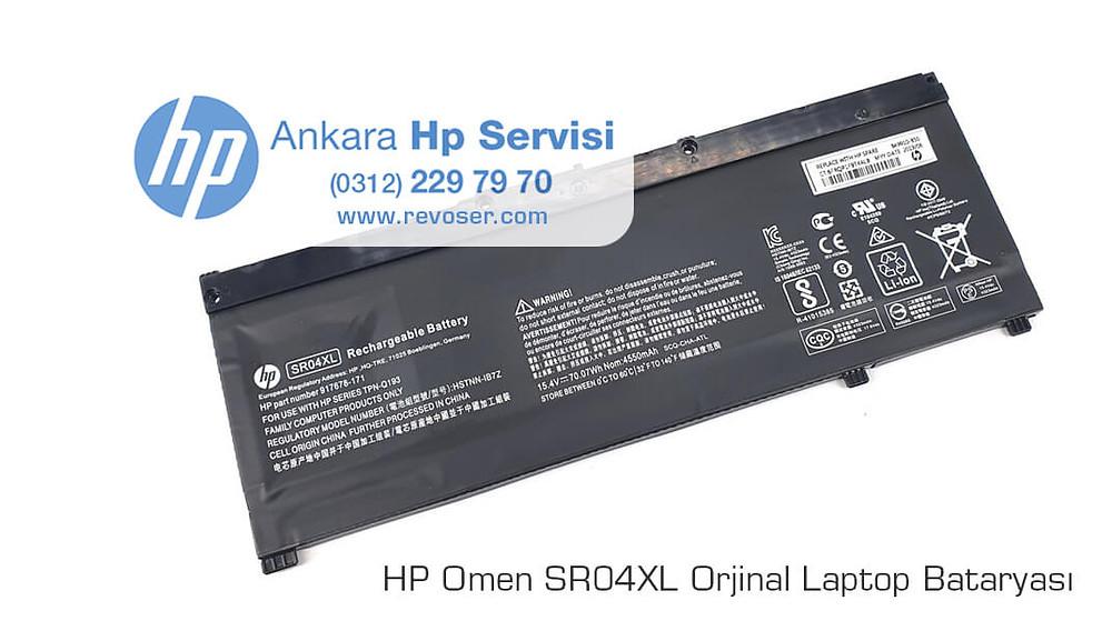 Hp Omen Laptop SR04XL Orjinal Batarya
