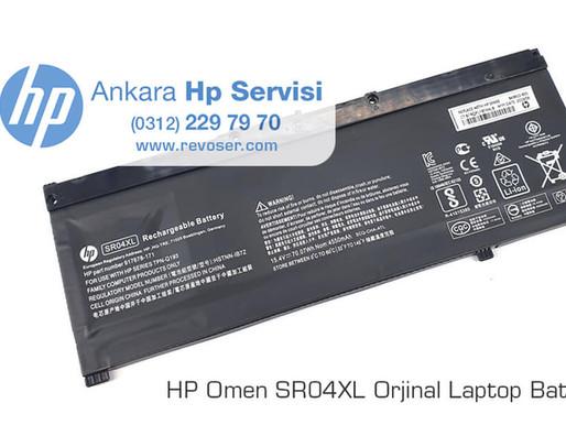 HP Omen Gaming SR04XL Orjinal Batarya Değişimi