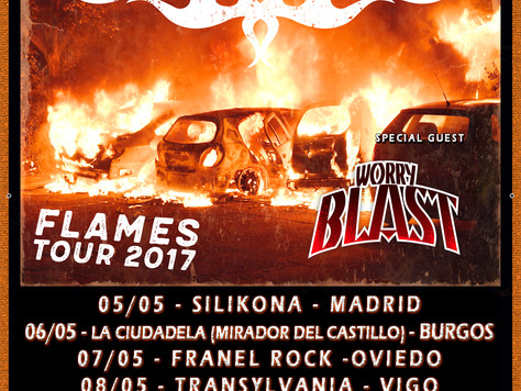 Worry Blast to tour Spain with Bonafide