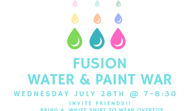 Water and Paint War