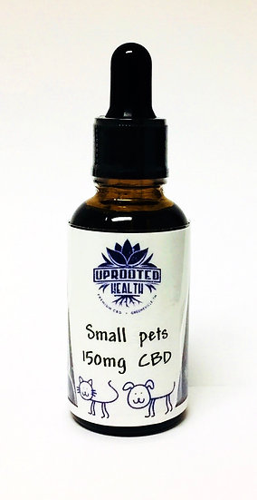 Small Pets CBD oil 150mg  1oz bottle