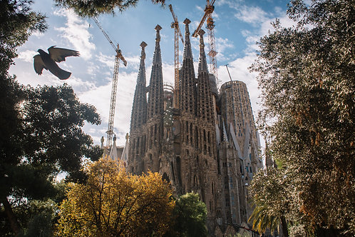 Sagrada Familia. Barcelona. Spain. 2018.