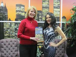 March 18 show Gail Kerriann skyline standing book.jpg