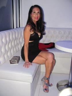 Gail seated