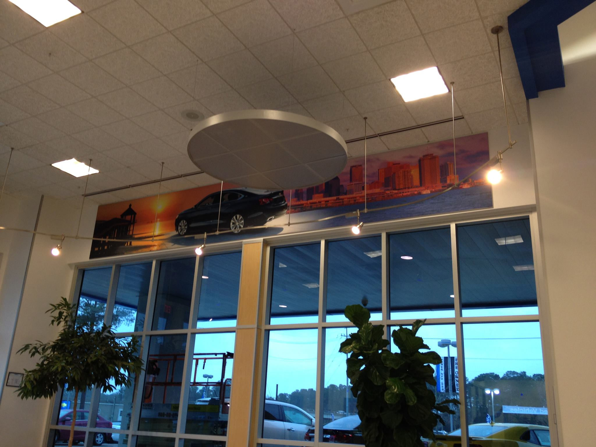 Dealership Mural