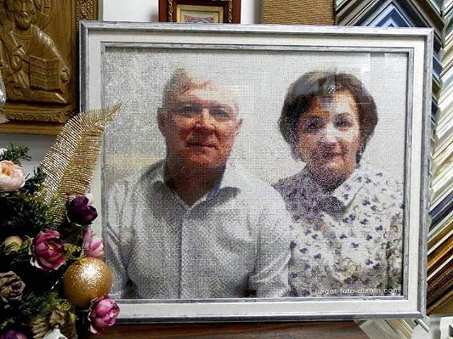 Алм/моз в раме, БАГЕТ-ФОТО-ДИЗАЙН