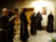 chapelle des franciscains des strasbourg. Prière des frères