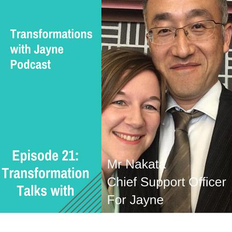 Episode 21: Interview with husband, Koichi Nakata