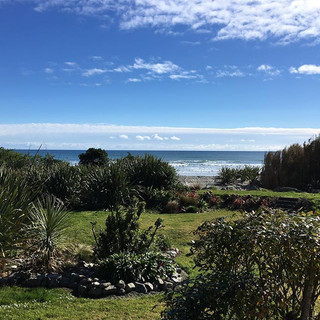 Lunch by the sea today! Wouldn't know it would as winter here! #newzealand #granity #jaynenakata #nofilter #photooftheday #beach