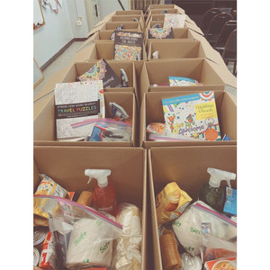 2020 Emergency Care packages during COVID-19 for 20 independent living members of Waipahu Aloha Clubhouse