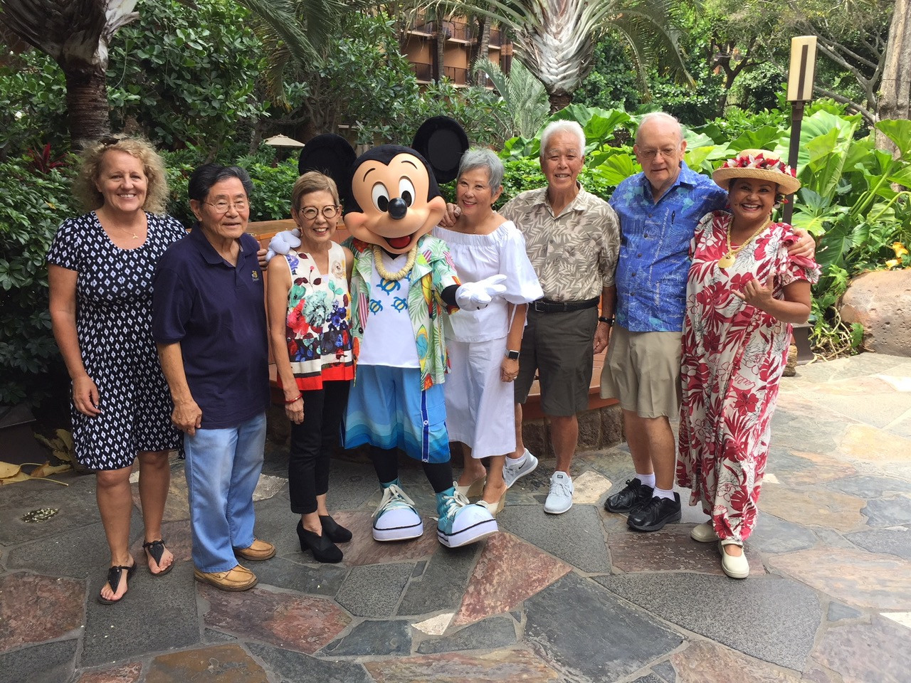 Rotary Members at Aulani