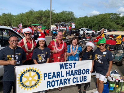 Participation in the Waianae Christmas Parade December 2019