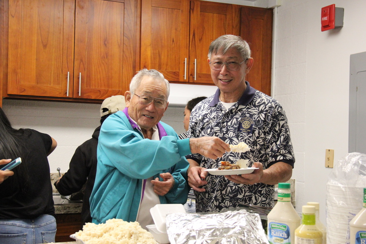 Waipahu Elderly Hall Christmas Celebration